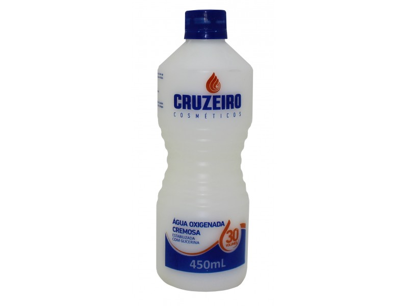 Hydrogen Peroxide Stabilized Cream Cruzeiro 450ML 30 Volumes