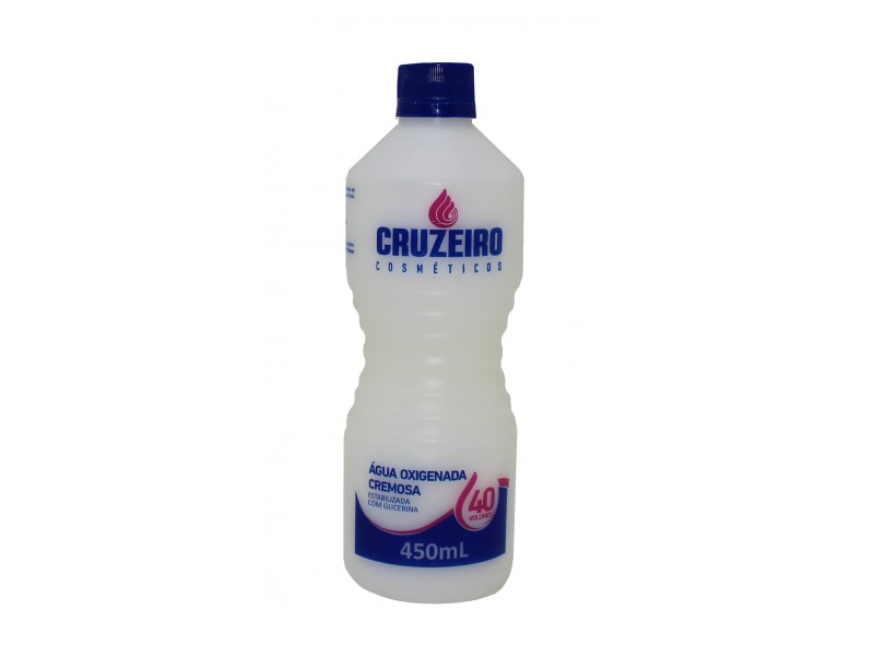 Hydrogen Peroxide Stabilized Cream Cruzeiro 450ML 40 Volumes