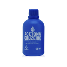 Acetona Cruzeiro 95mL (Nail Polish Remover Based on Acetone)